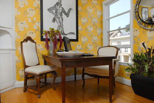 Architecture and Interior Design eclectic home office