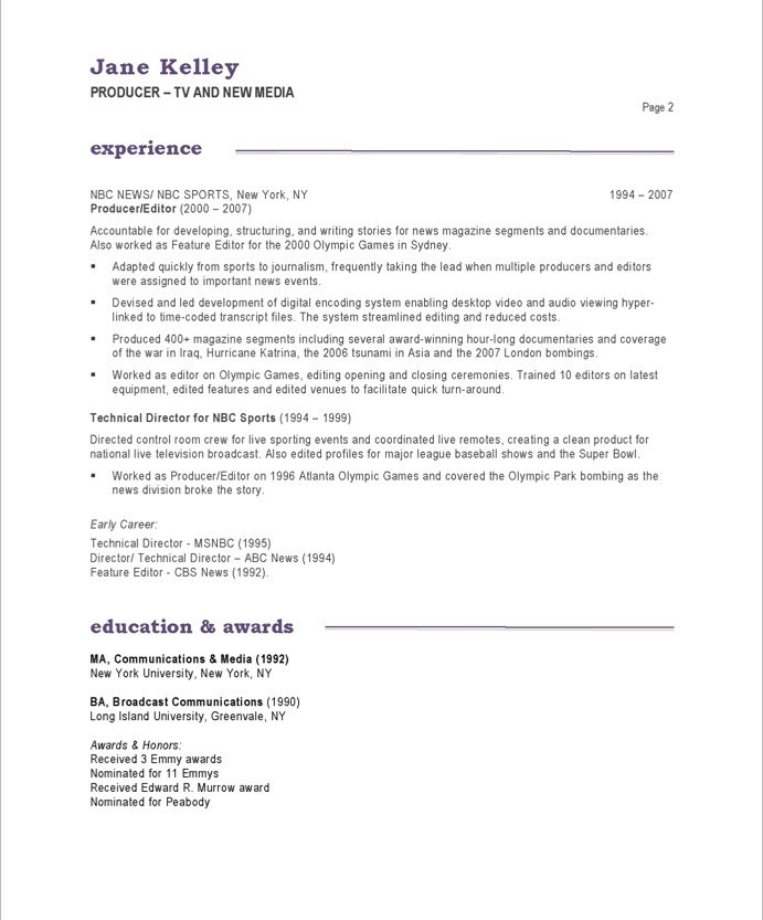 Cover Letter For Communications Specialist: Sample Resume