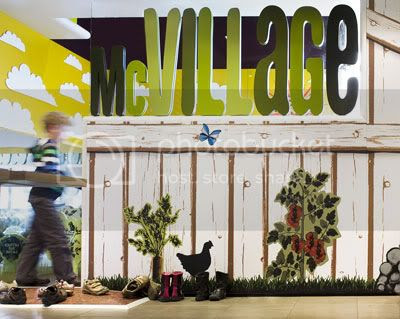 McVillage entrance