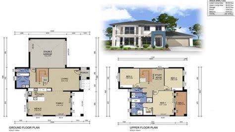 story modern house designs  storey house design