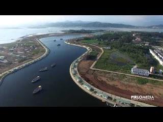Bay flycam chuyên nghiệp tại Hạ Long - Cảng Tuần Châu
