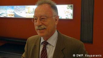 Franz-Lothar Altmann (Foto: DW/Panagiotis Kouparanis)