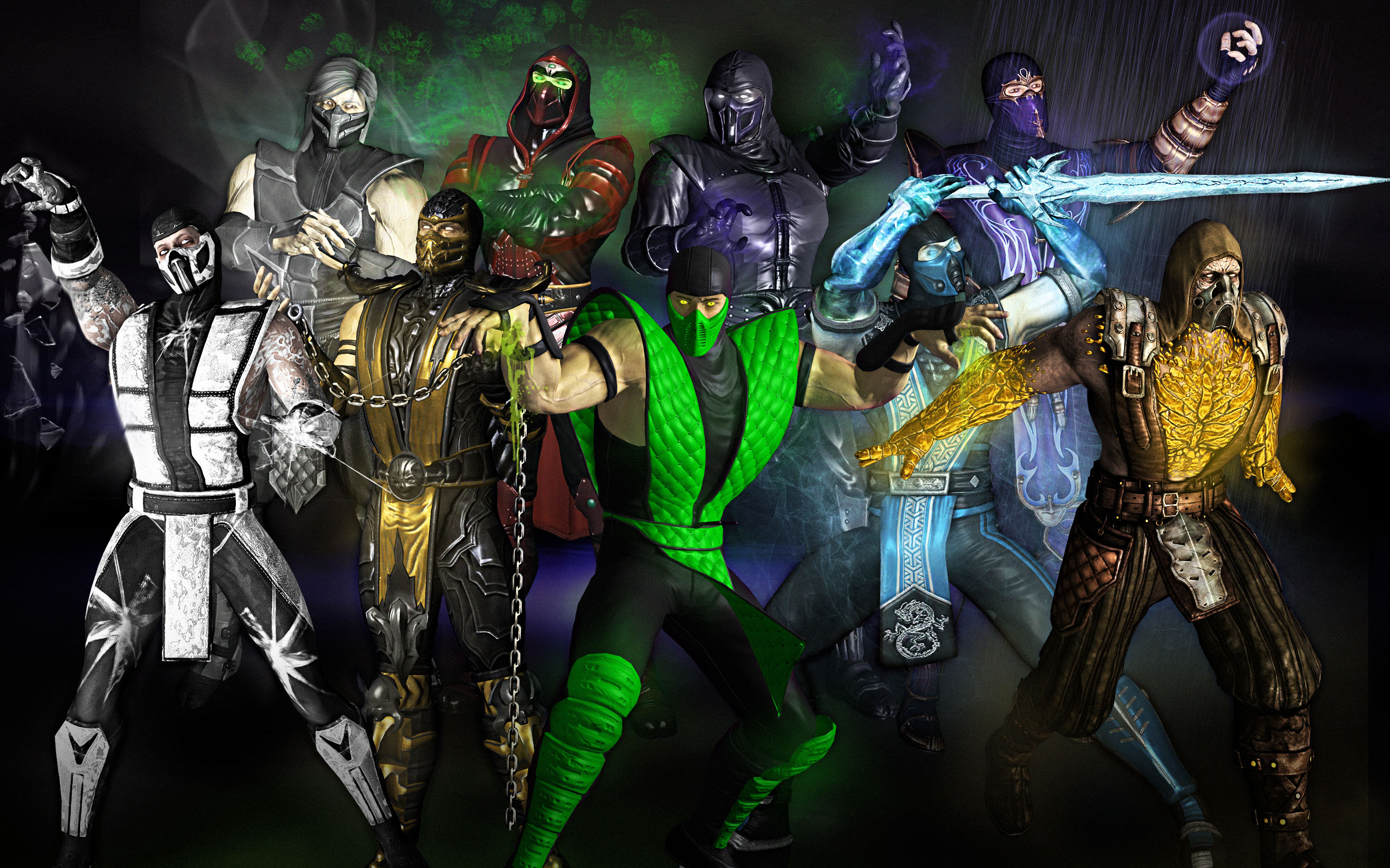 What Powers Colors Are Left For New Ninjas Mortalkombat