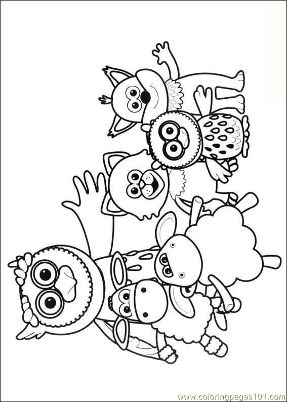 Timmy Time 04 Coloring Page Free Timmy Time Coloring Pages
