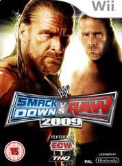 Smackdown vs Raw 2009 for Nintendo Wii