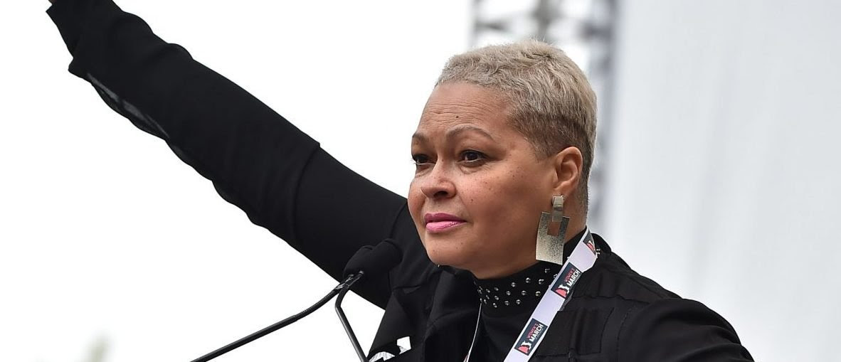 WASHINGTON, DC - JANUARY 21:  Donna Hylton speaks onstage during the Women