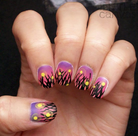 Adorable Bug Nail Art - From Mane 'n Tail