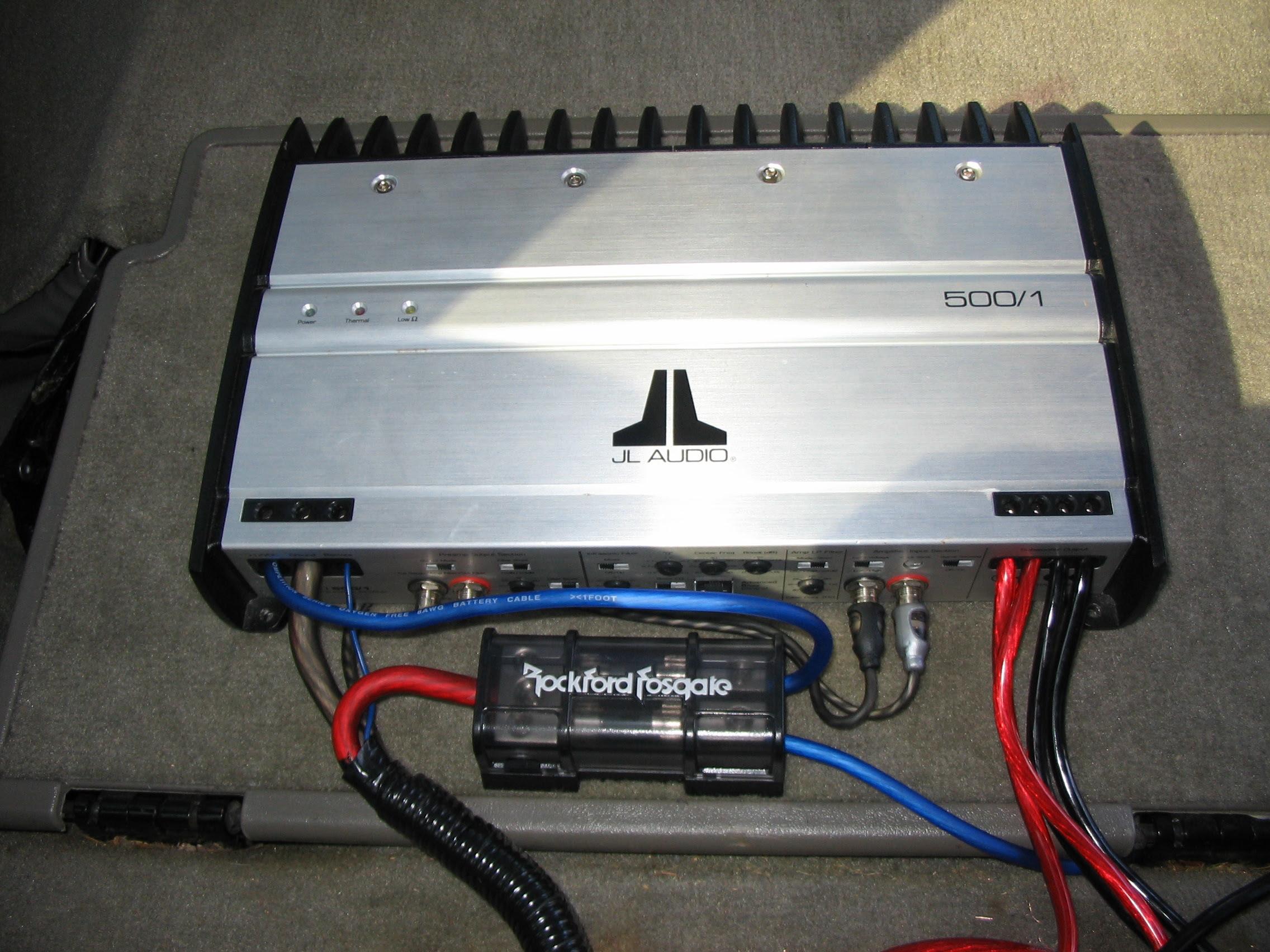 Jl Audio Wiring Diagrams