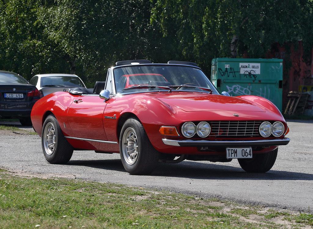 1972 Fiat Dino 2400 Spider