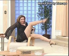 Marisa Orth sensual na serie Sai de Baixo