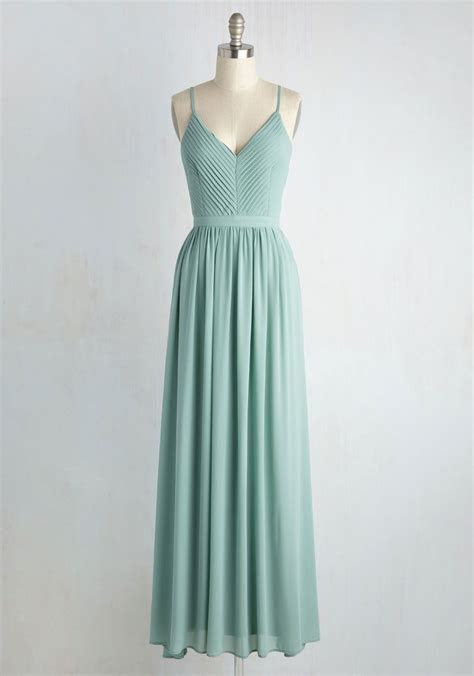 Bridesmaid for Each Other Maxi Dress   Wedding, Green