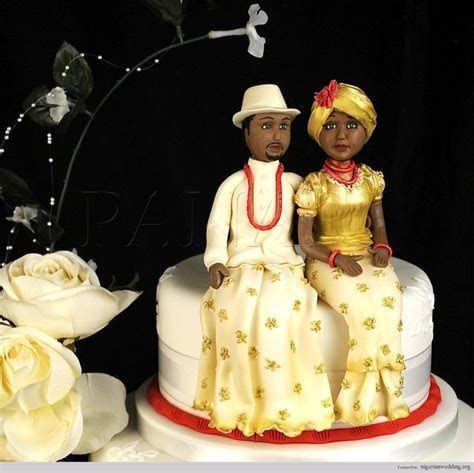 54 Best images about Cakes for Nigerian Weddings on