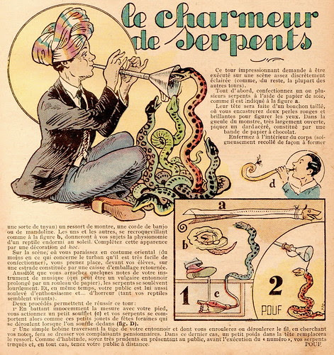 le charmeur serpents