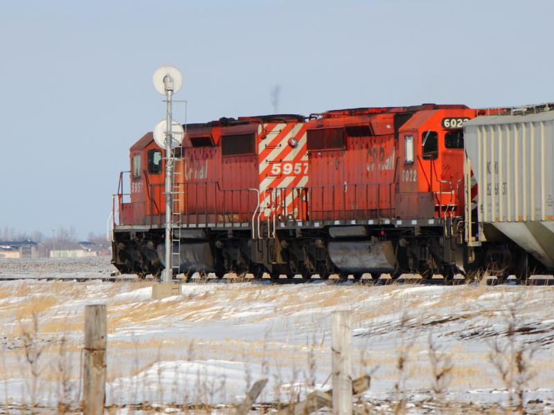 CP 6022 near Winnipeg