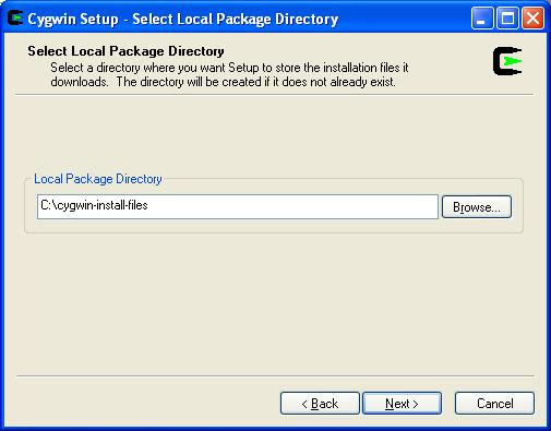 Local Package Directory