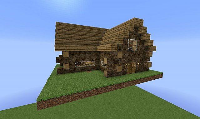 Herobrine's Small Cabin! Minecraft Project