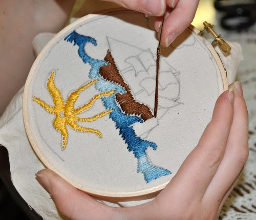 K's embroidery