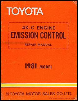 1981-1984 Toyota Starlet Body Manual Original