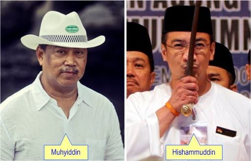 Muhyiddin and Hishammuddin