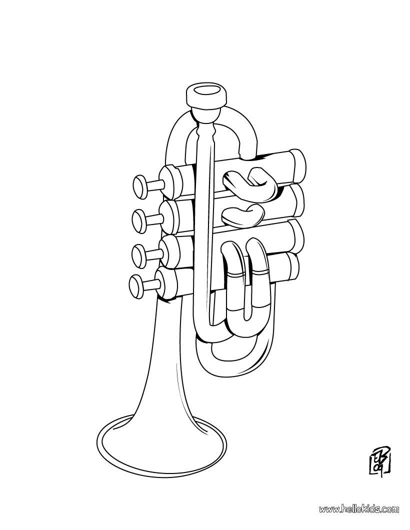 15 ausmalbilder musikinstrumente kostenlos  top kostenlos