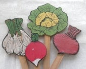 Wooden Vegetable Garden Markers - beautifulliving