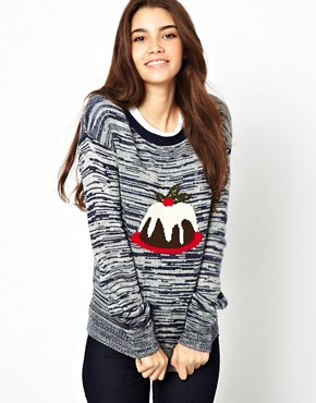 Image 1 of Only Christmas Pudding Jumper
