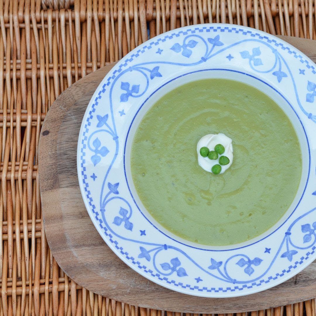 Sous Vide Pea & Potato Soup