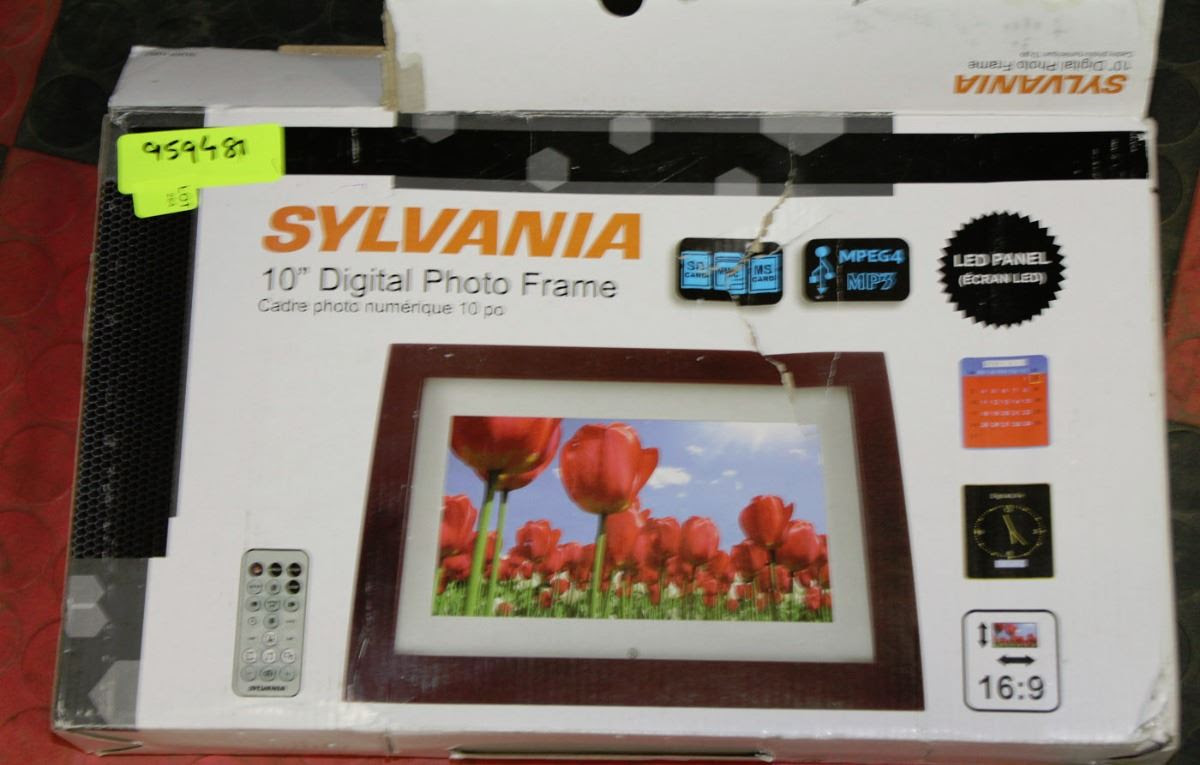 Sylvania 10 Digital Photo Framemp3 System