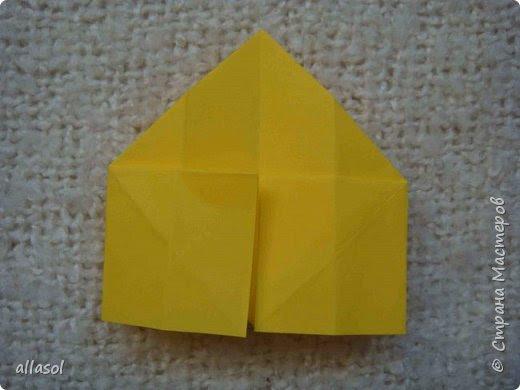 """Я показывала тюльпанчики-коробочки с конфетой http://stranamasterov.ru/node/1011679  . Для тех, кто заинтересовался - МК. Идея из книги   С.Соколовой """"Бумажные цветы, букеты, кусудамы.""""  фото 8"""