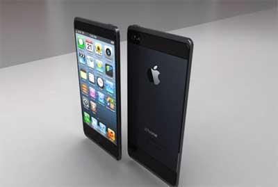تصورImagine: iPhone 6 new design and battery charging wirelessly: الايفون 6 بتصميم جديد وشحن البطارية لاسلكيا