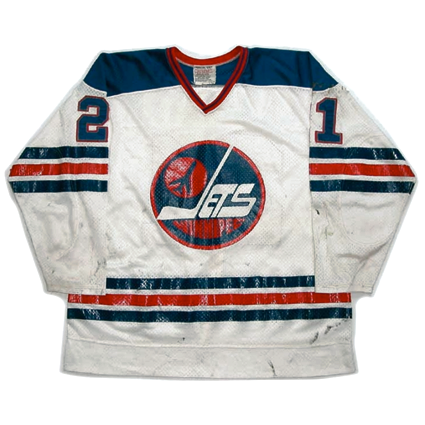 Winnipeg Jets 76-77 jersey, Winnipeg Jets 76-77 jersey