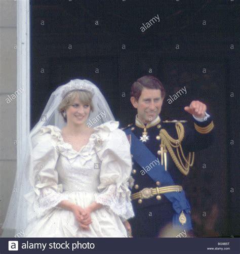 Princess Diana PRINCE CHARLES wedding day Buckingham