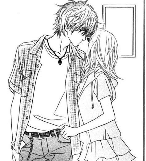 anime love falling  love   pinterest anime