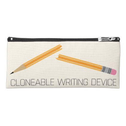 Funny Technology Broken Pencil Case