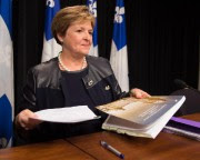 La vérificatrice générale Guylaine Leclerc... (Photo Jacques Boissinot, archives La Presse Canadienne) - image 1.0