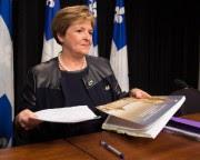 La vérificatrice générale Guylaine Leclerc... (PhotoJacques Boissinot, archives La Presse Canadienne) - image 1.0