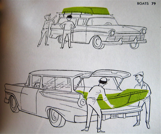 Lightweight Boats - Ford Treasury of Station Wagon Living