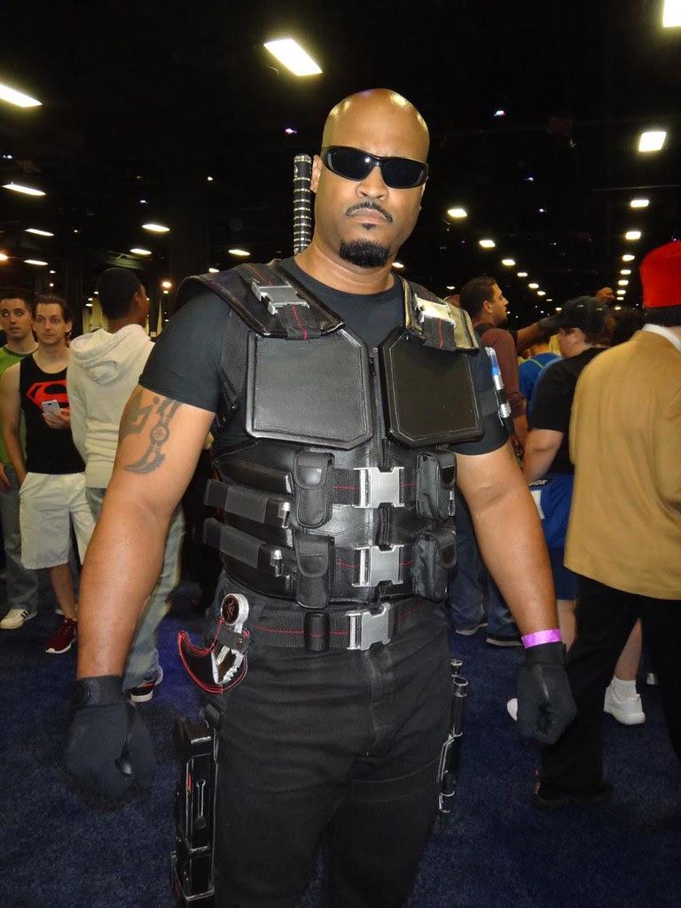 boston comic con 2013 marvel comics blade cosplay