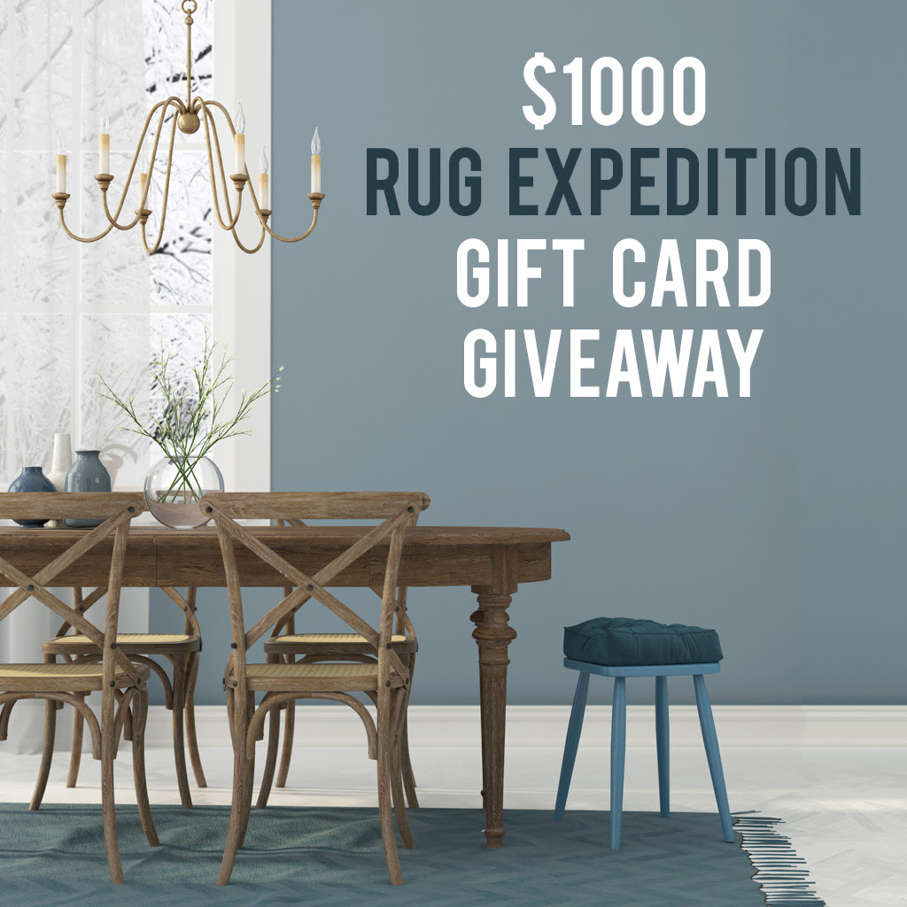 $1000 Gift Card Giveaway from Rug Expedition