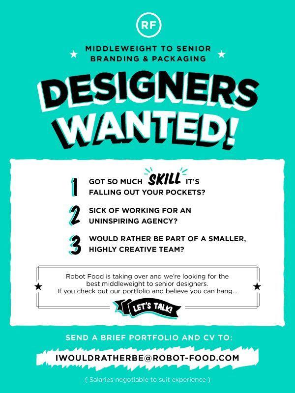 Pin By Firdaus On Art Design Recruitment Ads Advert