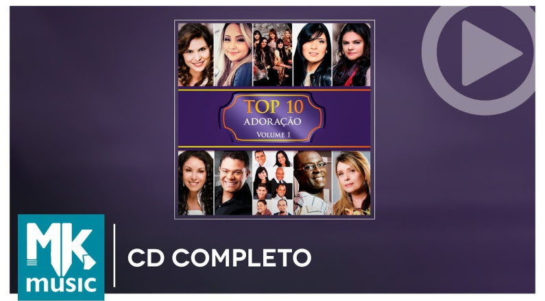TOP 10 - Louvores (Adoração) - CD COMPLETO