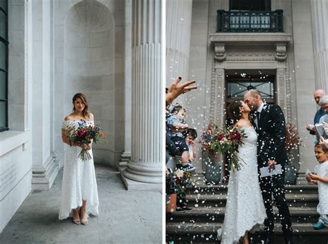 Intimate London wedding at Marylebone Town Hall