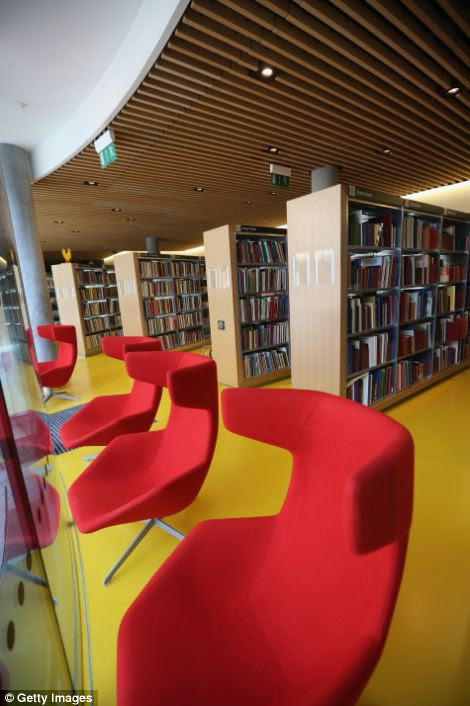 More than three million visitors are expected at the library each year, along with millions more online