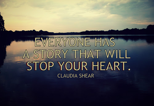 Everyone Has A Story That Will Stop Your Heart Claudia Shear