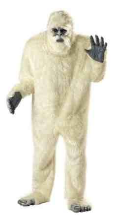 abominable snowman costume yeti