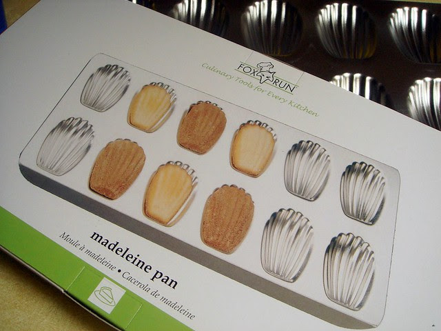 once upon a tart madeleines