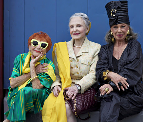 Scene from Advanced Style's documentary