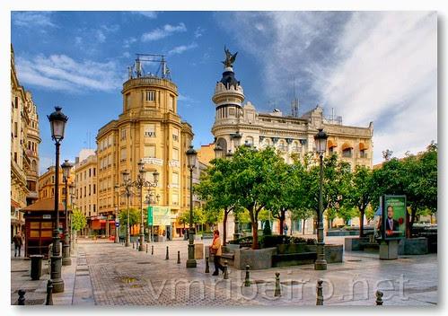 Plaza de las Tendillas by VRfoto
