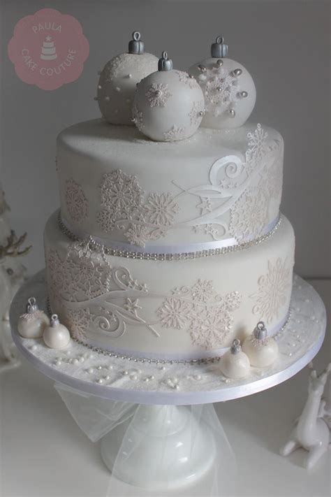 17 Best ideas about Christmas Cake Designs on Pinterest