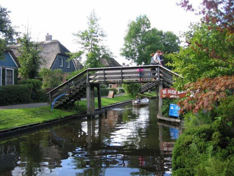 Giethoorn, a Veneza rural da Holanda 18
